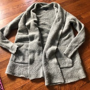 American eagle gray open front cardigan